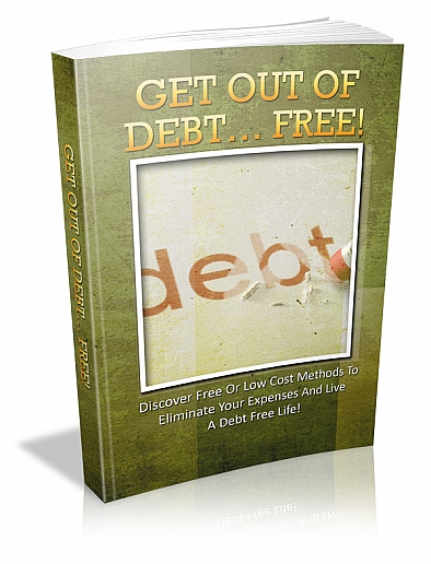 Out of debt