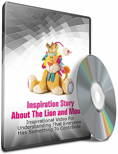 Inspiration Story about the Lion and mouse