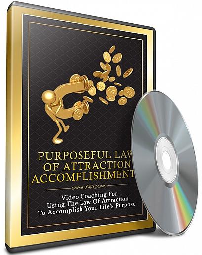 Purposeful law of attraction accomplishment