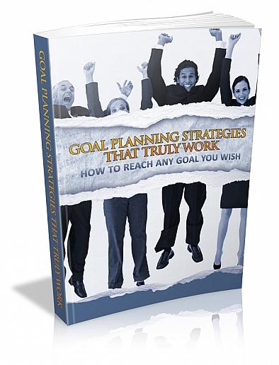 Goal Planning Strategies